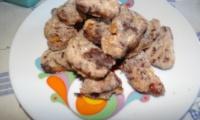 Biscotti nocciole e cioccolato vegan